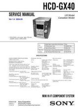 Buy Sony HCD-GX355-GX555-RG270-RG475-RG575 Service Manual by download Mauritron #24