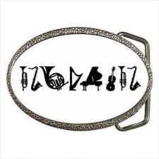 Buy Music Instruments Musician Orchestra Unisex New Belt Buckle