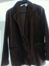 Buy Women's Blair Brand Brown Plush and Soft Blazer Size 10