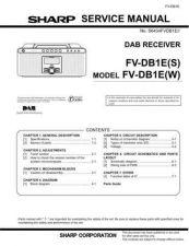 Buy Sharp FVDB1E (1) Service Manual by download Mauritron #208911