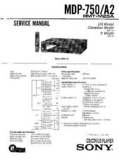 Buy Sony MDP-A1-600 Service Manual. by download Mauritron #242443