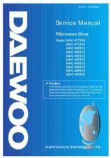 Buy Daewoo. C971C0S003. Manual by download Mauritron #212628