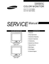 Buy Samsung CA17IS Service Manual by download Mauritron #230752
