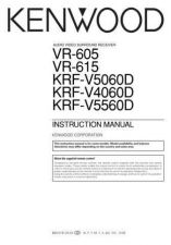 Buy Kenwood VR-5900 Operating Guide by download Mauritron #219765