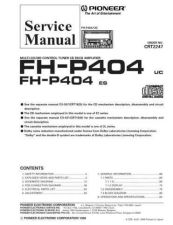Buy Pioneer C2247 Manual by download Mauritron #227160
