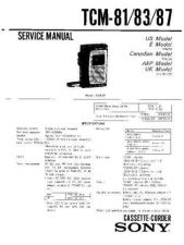 Buy Sony TCD-D10PRO-II Service Manual. by download Mauritron #245348