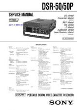 Buy Sony DSR-PD170PD170P PD190P RMT-811 Service Manual by download Mauritron #24042