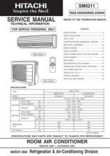 Buy Hitachi R-C- CLU-362U Service Manual by download Mauritron #264092