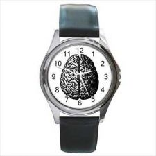 Buy Human Brain Vintage Anatomy Round Wrist Watch