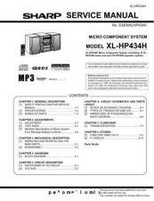 Buy Sharp. XLHP434H_SM_GB(1) Manual by download Mauritron #212148
