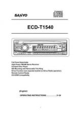Buy Fisher ECD-T1535 Service Manual by download Mauritron #215660