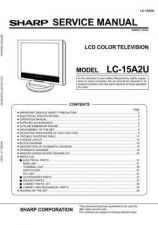 Buy Sharp LC15A2U Service Manual by download Mauritron #208993