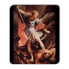 Buy Michael Archangel Patron Saint Of Police Computer Mouse Pad