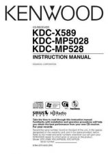 Buy Kenwood KDC-X589 by download Mauritron #219107