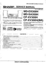 Buy Sharp MDDX300H-SA300H-CP-XV300H Service Manual by download Mauritron #209063