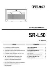 Buy Teac SR-L50 Service Manual by download Mauritron #223933