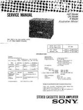 Buy Sony DXA-V502 Service Manual by download Mauritron #240558
