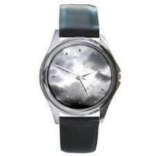 Buy Grey Sky Clouds Unisex Wrist Watch