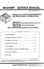 Buy Sharp ARD21-D22 (1) Service Manual by download Mauritron #208220