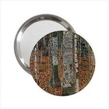 Buy Birch Forest Trees Art Gustav Klimt Handbag Purse Mini Mirror