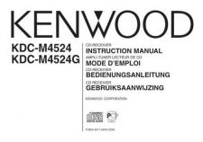 Buy Kenwood KDC-M4524 by download Mauritron #221948