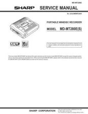 Buy Sharp MDMT280E Service Manual by download Mauritron #210054