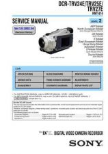 Buy Sony TRV27E Manual by download Mauritron #229920