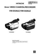 Buy Hitachi VME535LE EN Manual by download Mauritron #225674