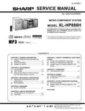 Buy Sharp. XLHP888H_SM_GB(1) Manual by download Mauritron #212168