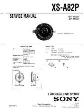 Buy Sony XS-A82P Service Manual. by download Mauritron #246339