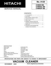 Buy Hitachi CV-SH18 240C Service Manual by download Mauritron #261703