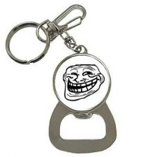 Buy Troll Guy Internet Meme Rage Face Keychain Bottle Opener
