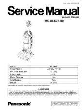 Buy Panasonic MC-CG881-SR79 by download Mauritron #267624