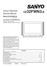 Buy Fisher CE32FWN3-B-00 SM Service Manual by download Mauritron #214700