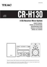 Buy Teac CR-H130(EF) Service Manual by download Mauritron #223624