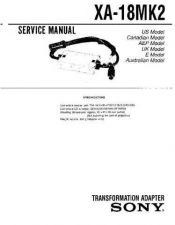 Buy Sony XA-300 Service Manual. by download Mauritron #245902