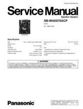 Buy Panasonic SB-WAK870GCP by download Mauritron #268780