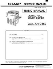 Buy Sharp ARC150-250 Service Manual by download Mauritron #208172