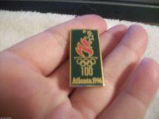 Buy 1996 100 Years Centennial Atlanta Olympics Collectible Lapel & Hat Pin