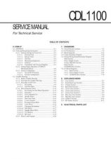 Buy Sony CDM-20SE2T Service Manual by download Mauritron #237199