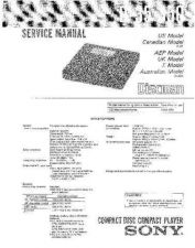Buy Sony D-32 Service Manual by download Mauritron #239427