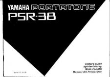 Buy Yamaha PSR38E Operating Guide by download Mauritron #249341