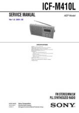 Buy Sony ICF-M410L Service Manual. by download Mauritron #241619