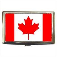 Buy Canada Flag Cigarette Money Credit Business Card Case