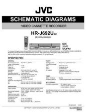 Buy JVC HR-J692US2 Service Manual. On by download Mauritron #271002