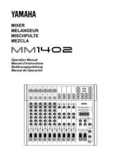 Buy Yamaha MM1402E Operating Guide by download Mauritron #248757