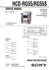 Buy Sony HCD-RG440[2] Service Manual by download Mauritron #241249