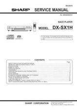 Buy Sharp DXSX1-H-W SM TECHNICALMANUAL GB(1) Service Manual by download Mauritron