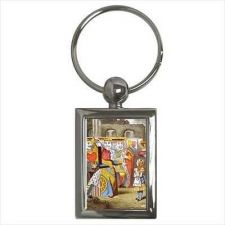 Buy Queen Of Hearts Alice In Wonderland Color Key Chain Keychain