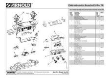 Buy Arnold No.291 Baureihe E94 Der DB HN2031 Information by download Mauritron #206